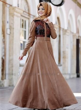 Modanisa Elbise Modelleri 2016 The Dress Musluman Elbisesi Elbise Modelleri