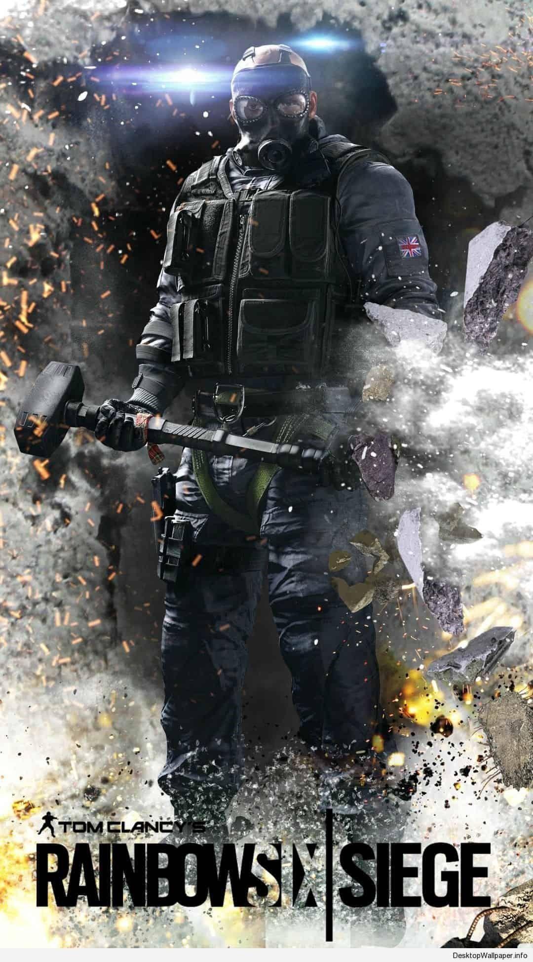 Rainbow Six Siege Iphone Wallpapers Papeis De Parede De Jogos