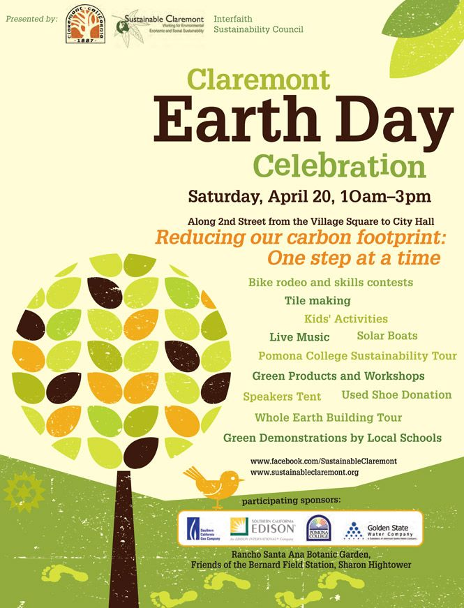 Earth Day flyer | Campus Earth Day | Pinterest | Earth and ...