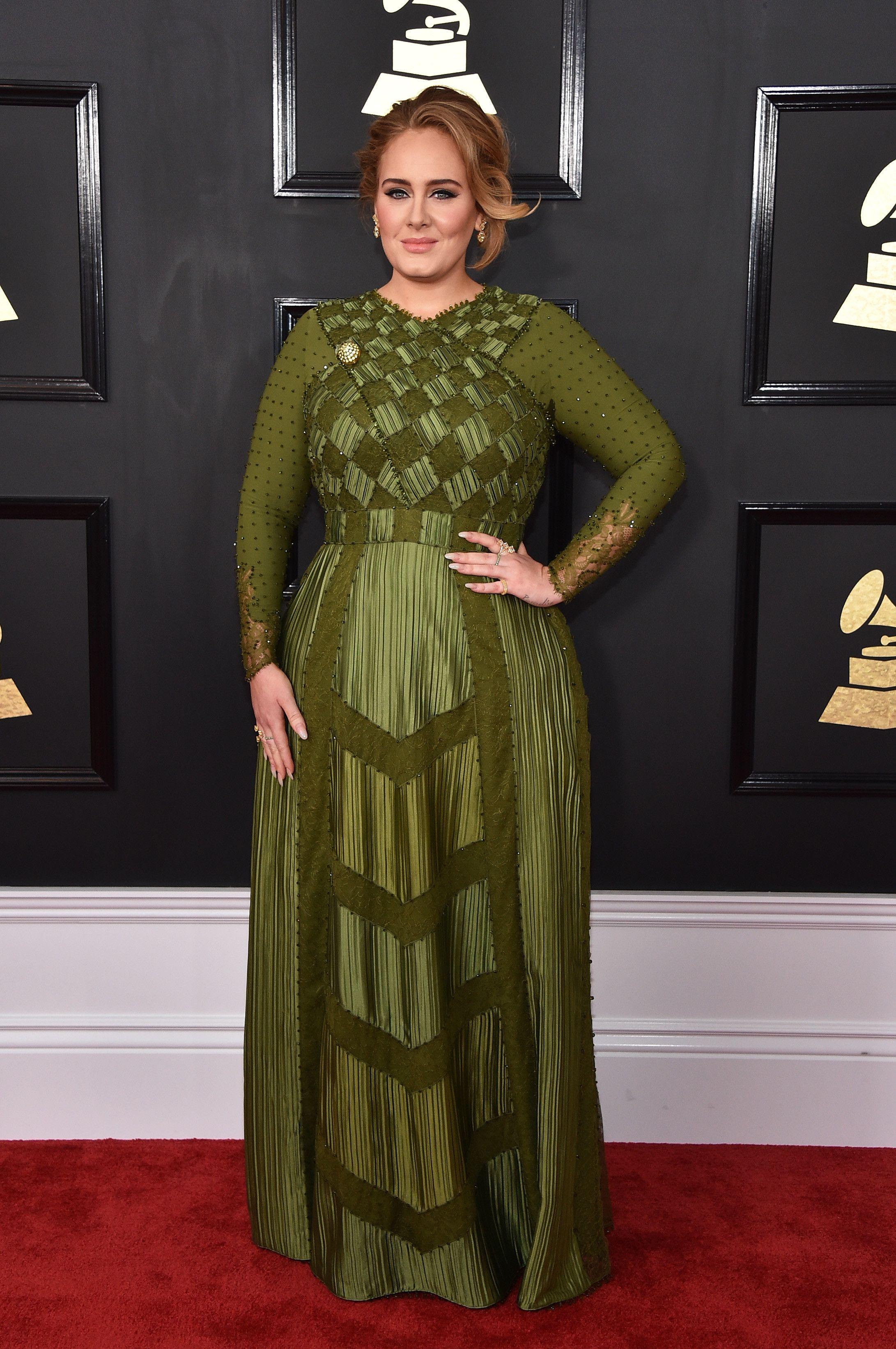 Grammy Awards 2017 The Red Carpet Fashion You Need To See Nice Dresses Red Carpet Dresses Red Carpet Fashion