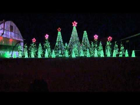 Jingle Bells Techno - Synchronized Christmas Light Show to Music ...