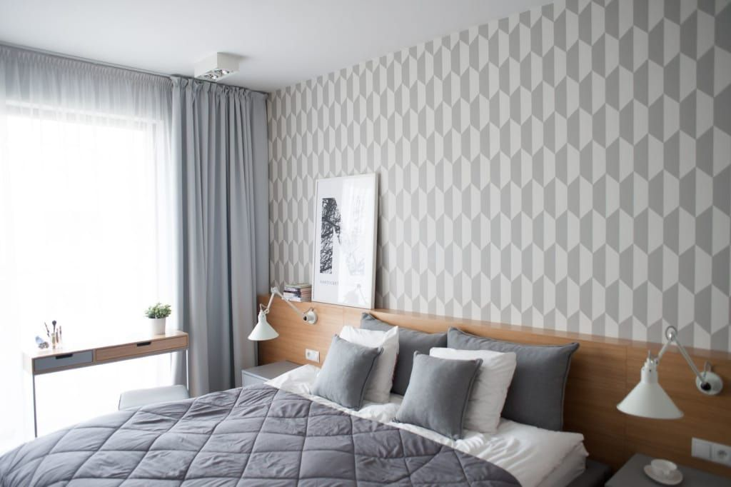Glasbilder Schlafzimmer ~ Moderne schlafzimmer bilder in grau von raca architekci