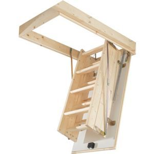 Abru Complete Timber Loft Access Kit With Images Attic Renovation Attic Flooring Attic Remodel