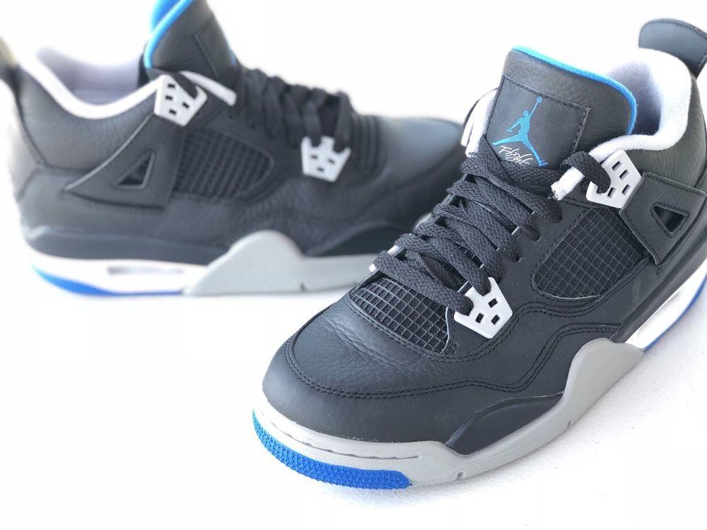 fa0025bf091703 2017 Nike Air Jordan 4 IV Retro BG Size 6Y Alternate Motorsport Blue  408452-006 (eBay Link)