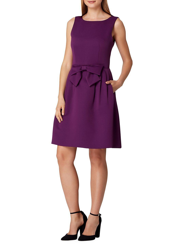 Tahari Arthur S Levine Sleeveless Bow Fit And Flare Dress Walmart Com Fit Flare Dress Fit And Flare Dress Dresses [ 1440 x 1080 Pixel ]