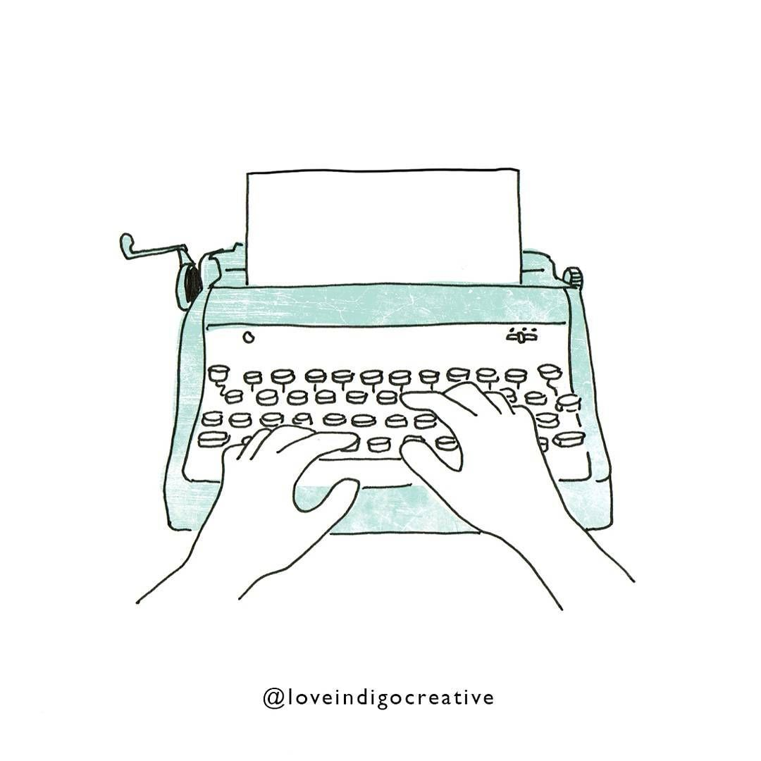 Alisha Brunton On Instagram Vintage Typewriter For The Lovely Paperplanesconnect Where Is The Typewriter Emoji Vintage Typewriters Emoji Instagram Posts