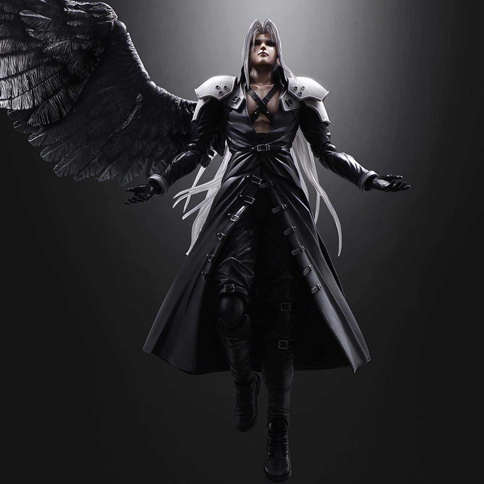 Anime Play Arts Kai Final Fantasy 7 VII Sephiroth PVC Action Figure Statue Model