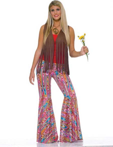 Fantasia anos 80 passo a passo de como fazer coisas - Moda hippie anos 70 ...