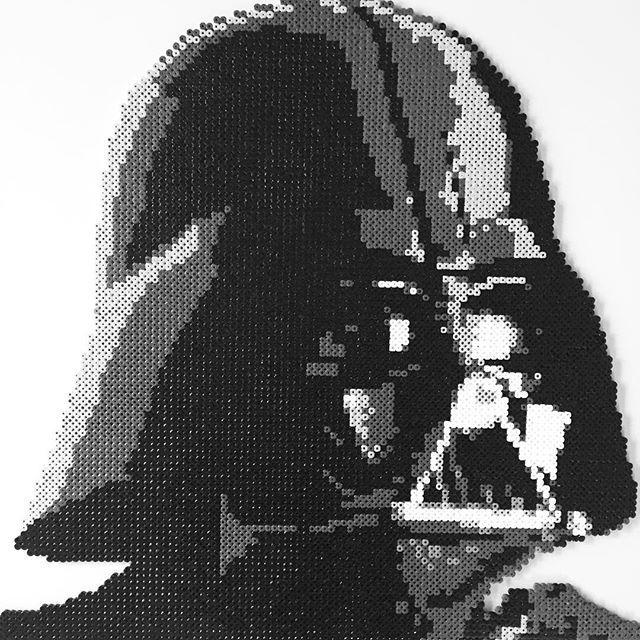 Darth Vader Star Wars Perler Beads By Imayfair Perler