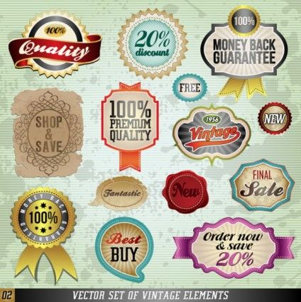 Classic Label Stickers 02 Vector Vector Free Graphic Design Art Free Graphics