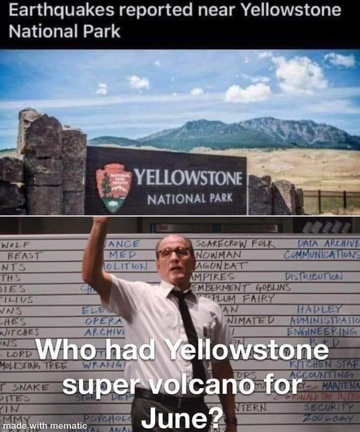 Volcanoes And Hurricane Season Oh My Haha Funny Humor Jokes