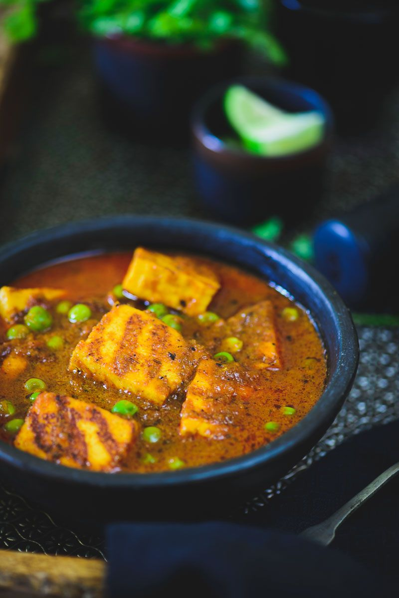 Matar paneer recipe indian breads paneer recipes and cottage cheese forumfinder Choice Image