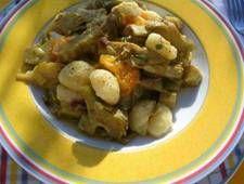 Gnocchi mit Artischocken und Orangen http://kulinarische.sizilienreise.info