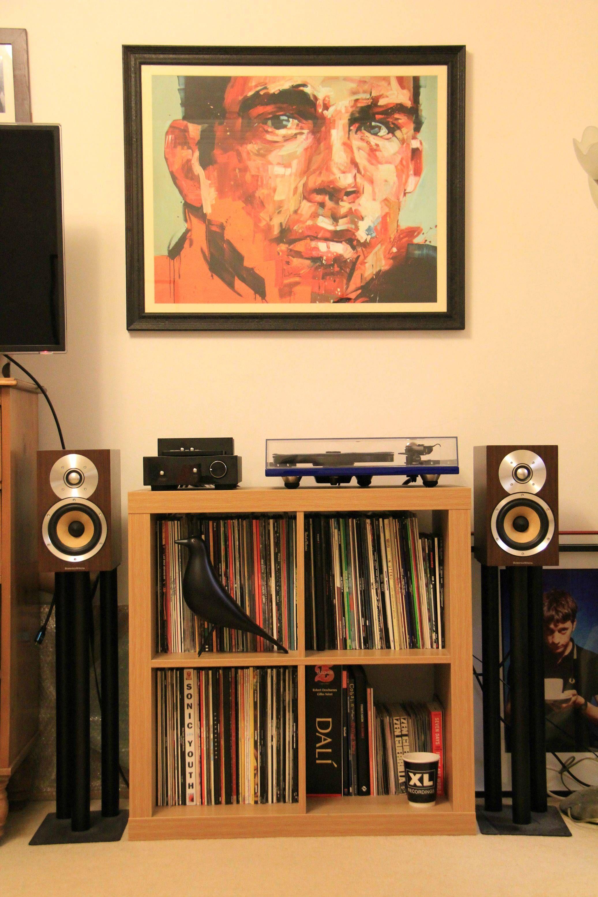 Vinyl storage  Record Collection #eames #bird