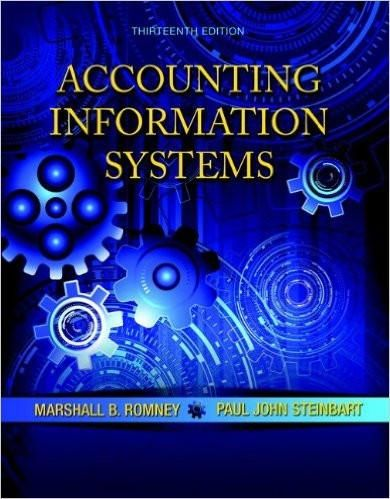 Accounting information systems 13th edition by marshall b romney accounting information systems 13th edition by marshall b romney isbn 13 978 0133428537 fandeluxe Gallery