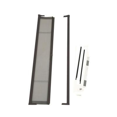 Larson 36 In X 80 In Brisa Brown Standard Retractable Screen Door Retractable Screen Door Aluminum Screen Doors Exterior Doors