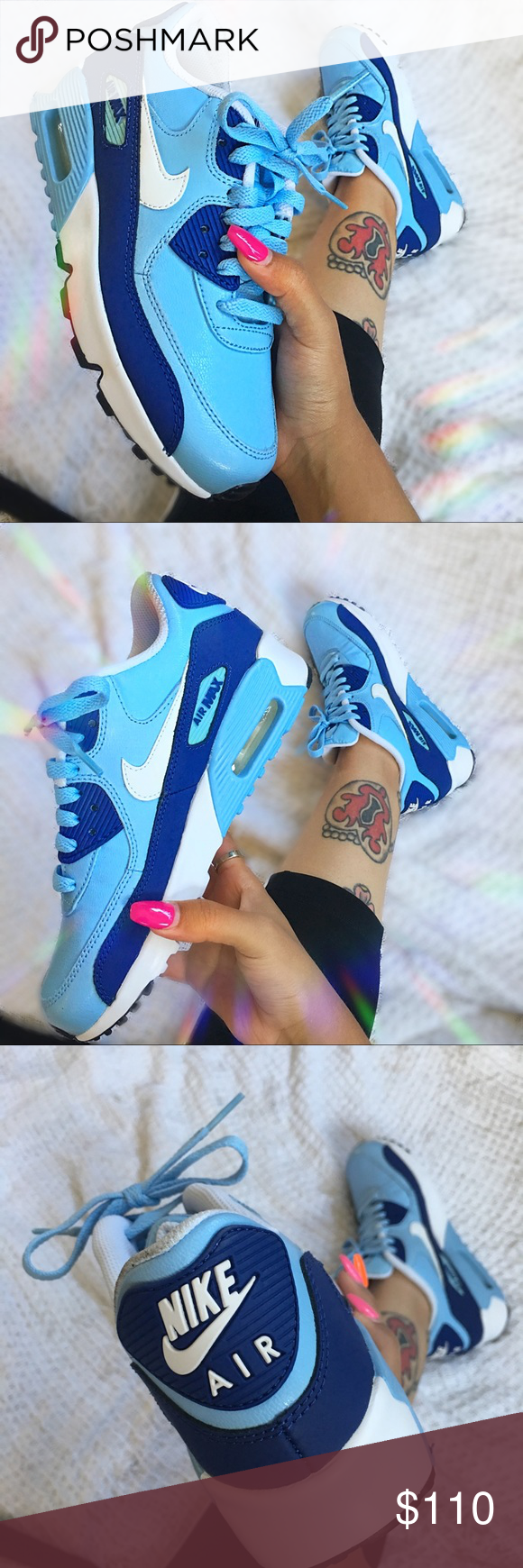 Nike Air Max 90 BluecapRoyal Blue Gorgeous Air Max 90