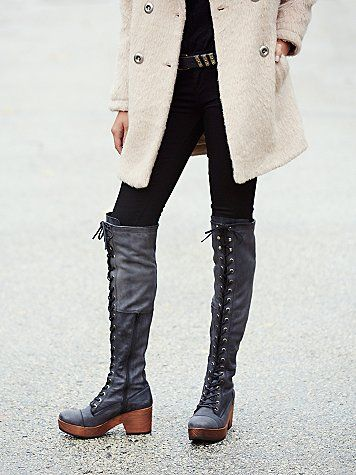 Free People Cayd Clog Boot at Free People Clothing Boutique
