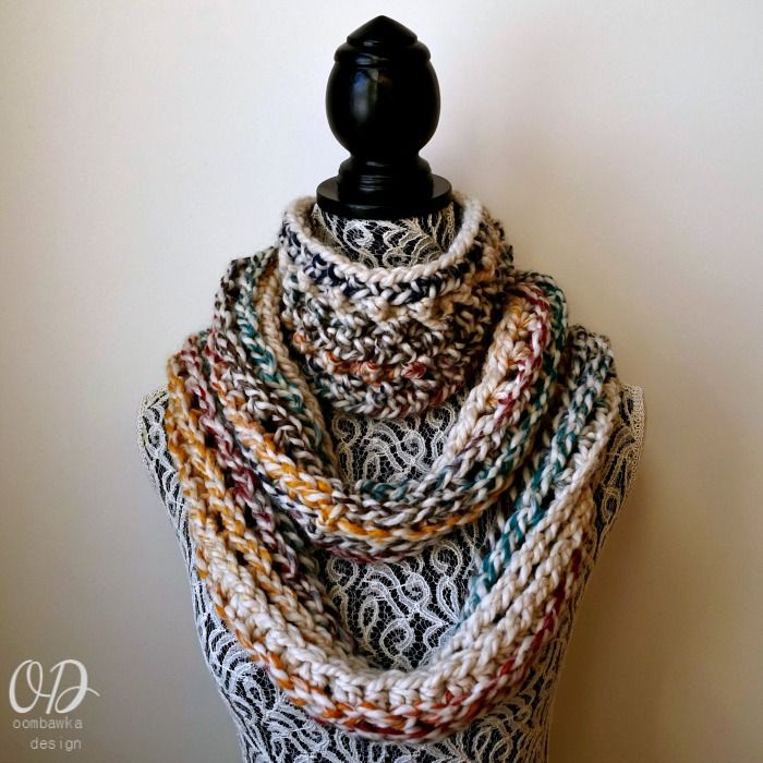 February Elemental Infinity Scarf - Scarf of the Month Club ...