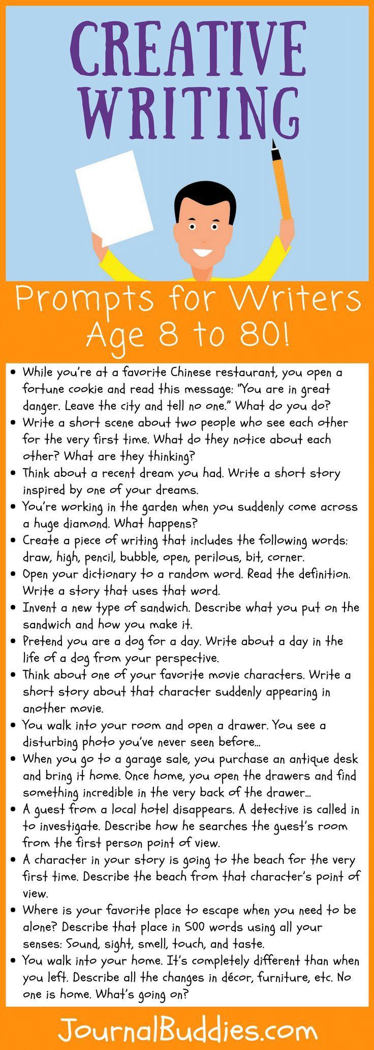 creative writing year 8