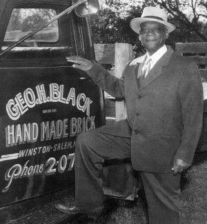 George Henry Black, Famous brick maker in Winston-Salem
