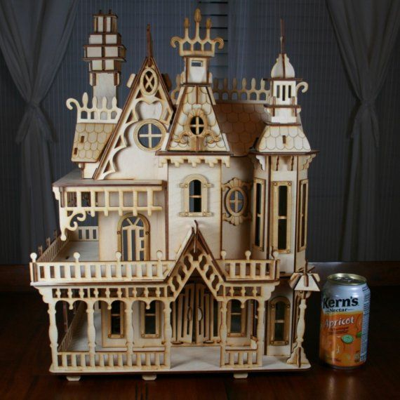 Victorian style house crafty pinterest victorian for Victorian style kit homes