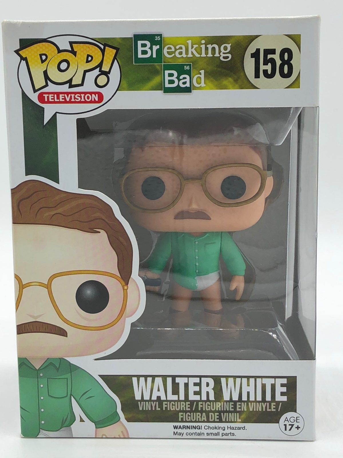Breaking Bad Walter White 158 Vaulted Ships In Pop Protector