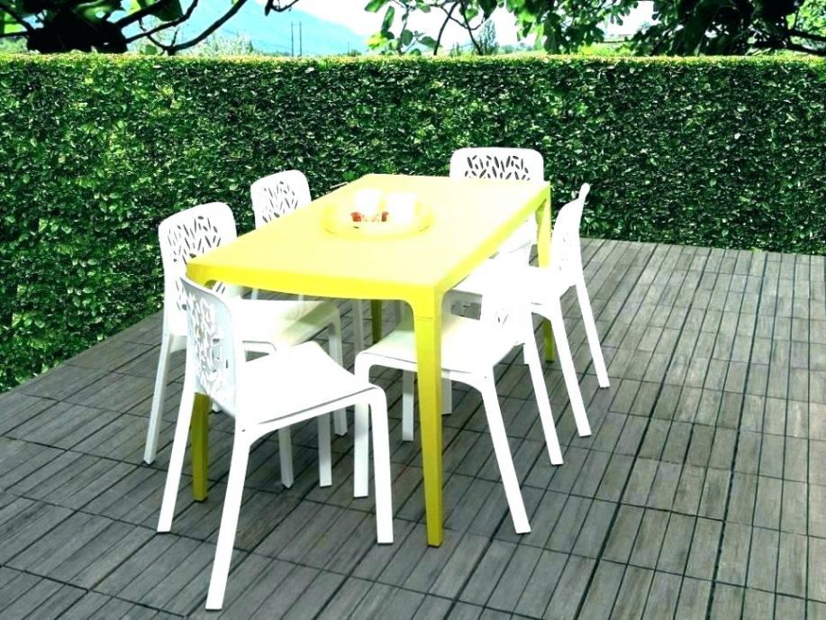 Chaise Jardin Carrefour Table Chaise Table Plastique Table Chaises ...
