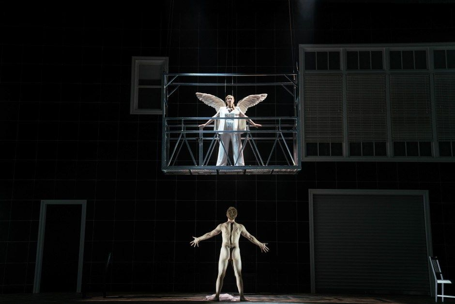 Angels In America Starring Nathan Lane And Andrew Garfield