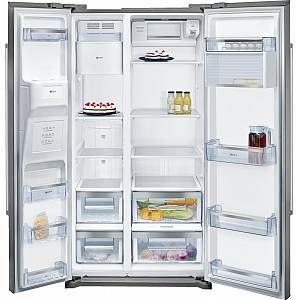Buy Neff N 50 KA3902I20G American Fridge Freezer - Inox | Marks Electrical