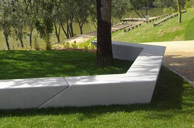 Milenio Bench   Site Furniture   EXP Architects, Escofet/Landscape Forms