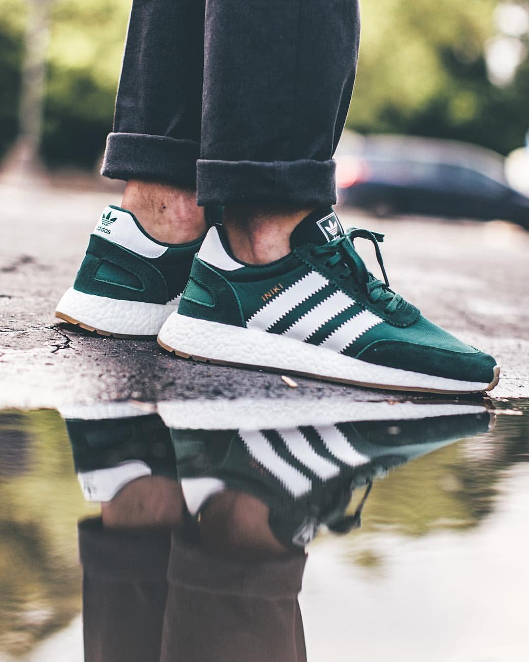 adidas iniki green