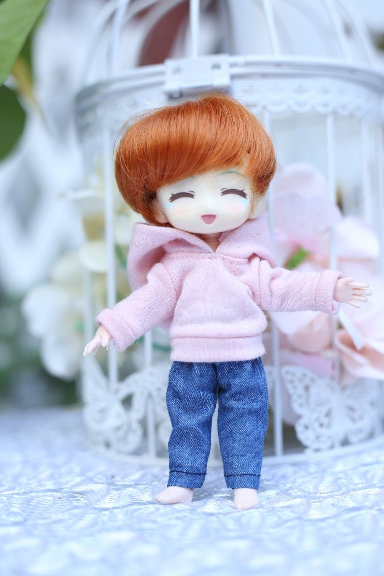 Obitsu11 OB11 1//12 doll hoodies with pocket doll accessories doll coat