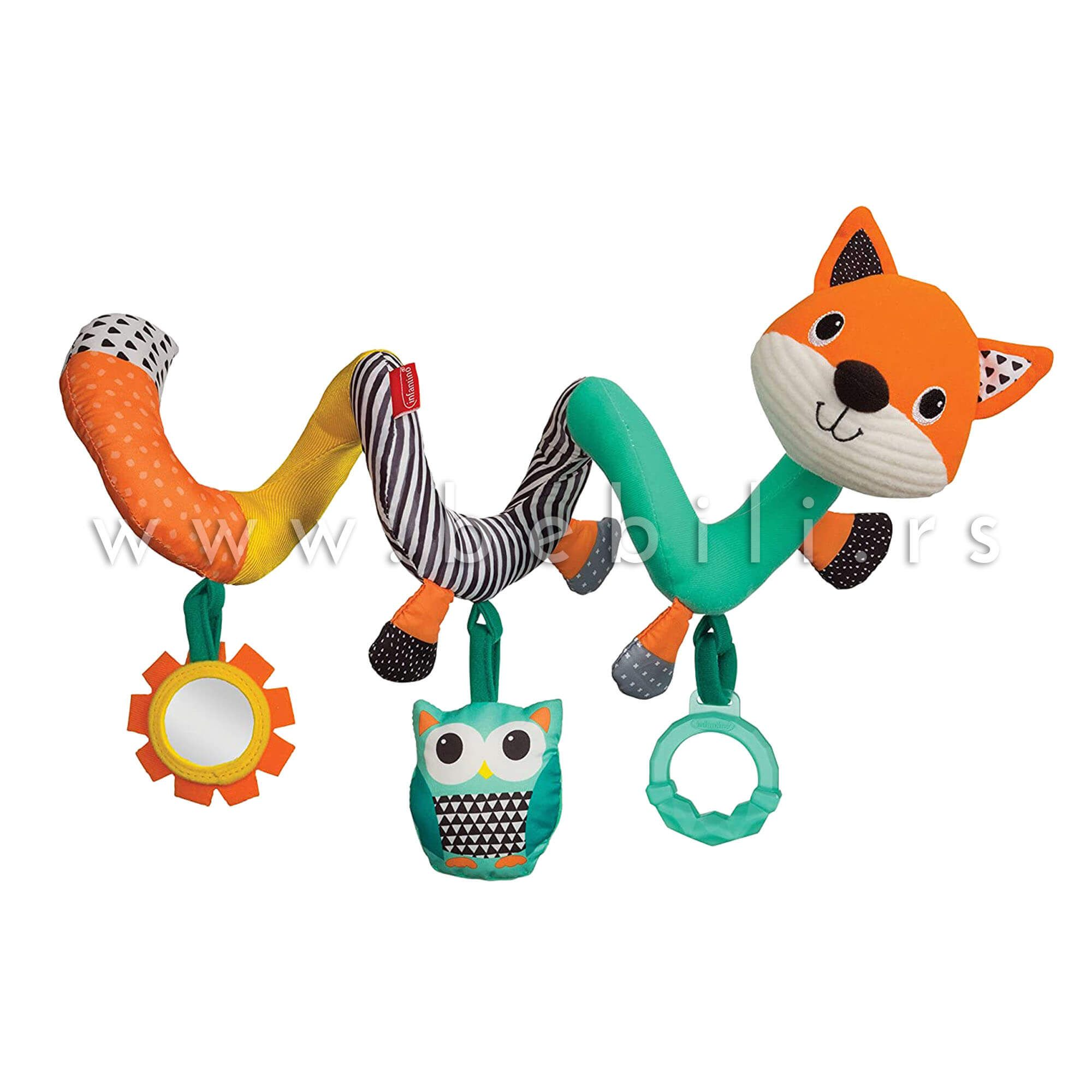 Infantino Igracka Za Kolica Lisica In 2020 Activity Toys Unique Toys Manhattan Toy