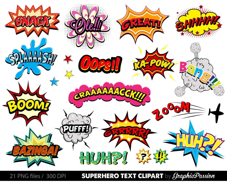 Comic Word Bubble Google Search SRPsuperheroes