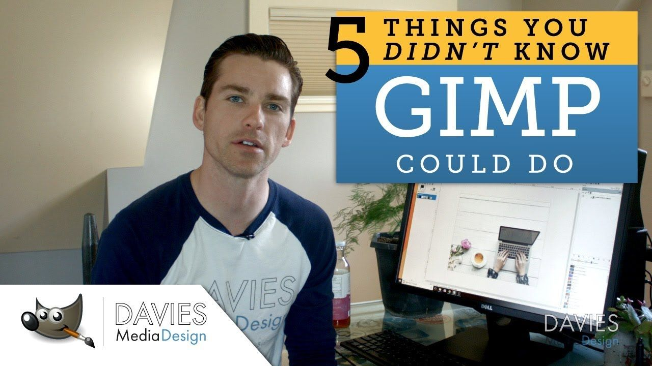 GIMP Tutorial 5 Things You Didn't Know GIMP Could Do
