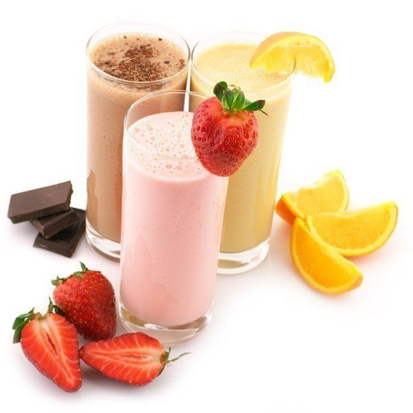 Preparation of protein shakes! 10 recipes!