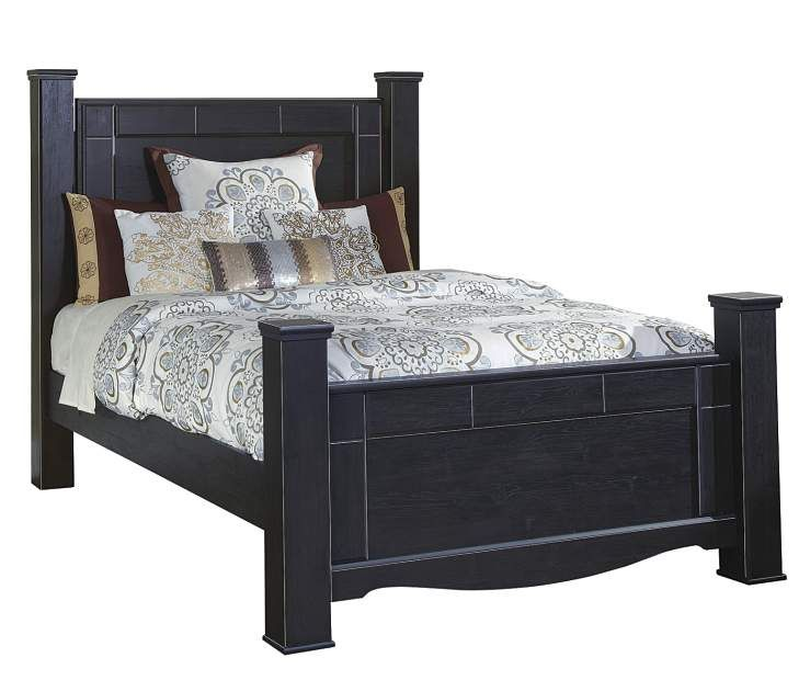 Annifern Poster Queen Bed, 4-Piece Set at Big Lots ...