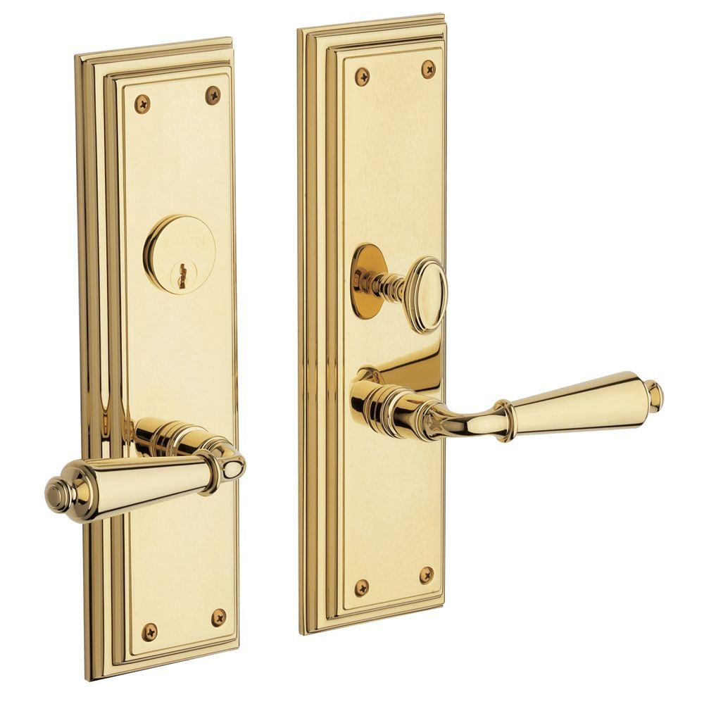 Republic Escutcheon Entrance Set Ere01 030 Entr Baldwin Hardware Entrance Household