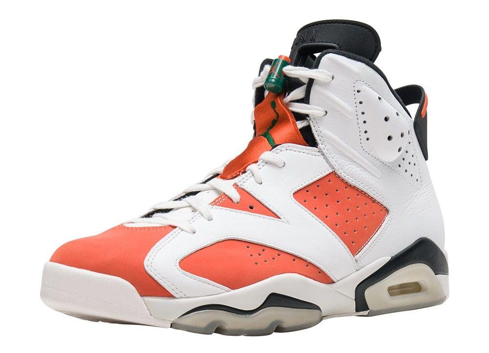 Air Jordan 6 VI Gatorade Release Date Front 384664 145