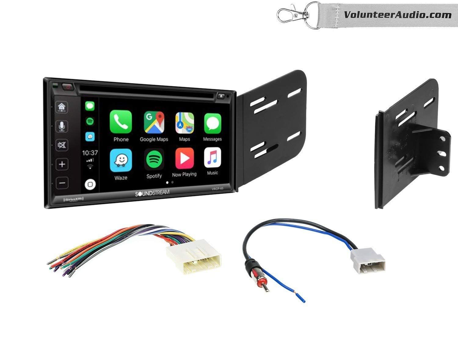 Soundstream VRCP65 Double Din Radio Install