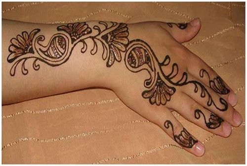 Easy Mehndi Ideas : Easy and simple mehndi designs that you should try in