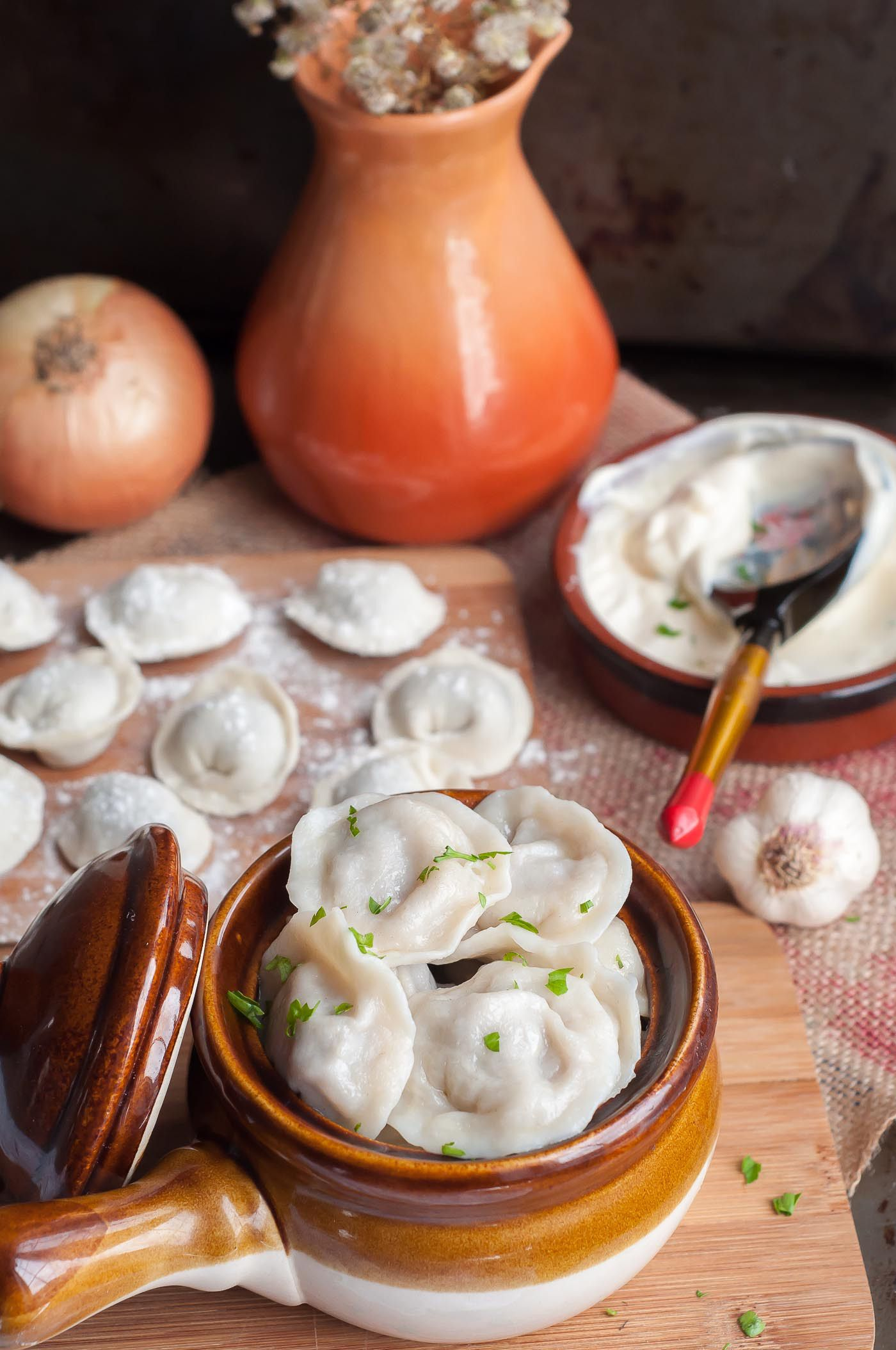 Classic Russian Dumplings Pelmeni Recette Cuisine Russe