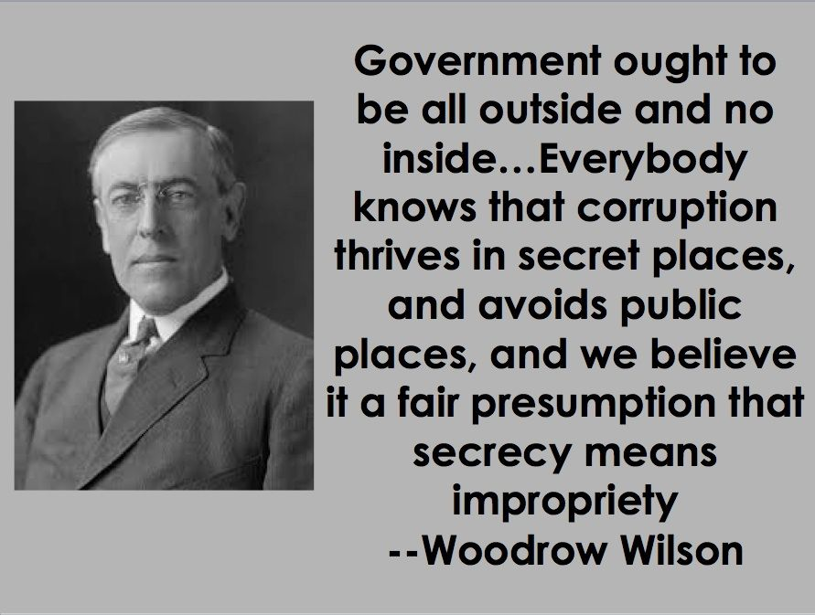 Woodrow Wilson Quotes | Woodrow Wilson On The Corruption Of Politics And Government