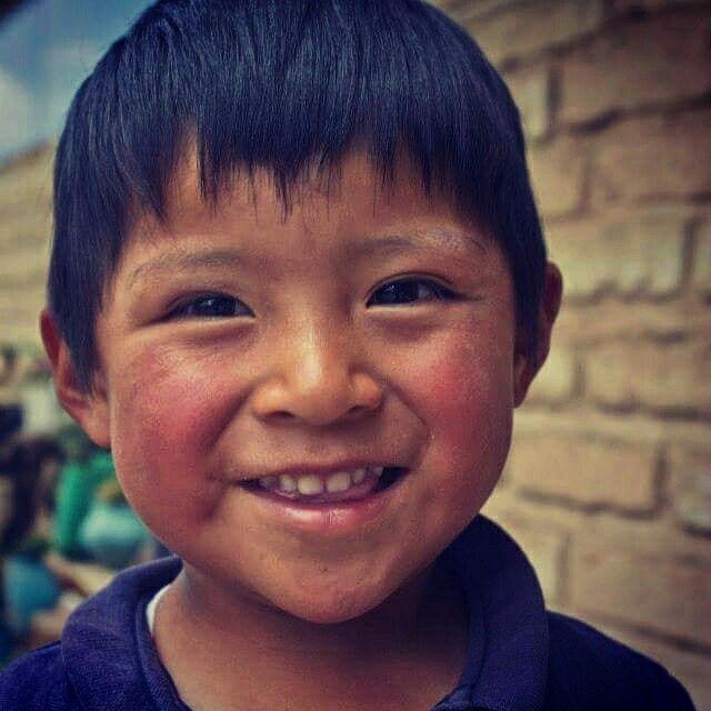 No hay nada como la sonrisa de un niño