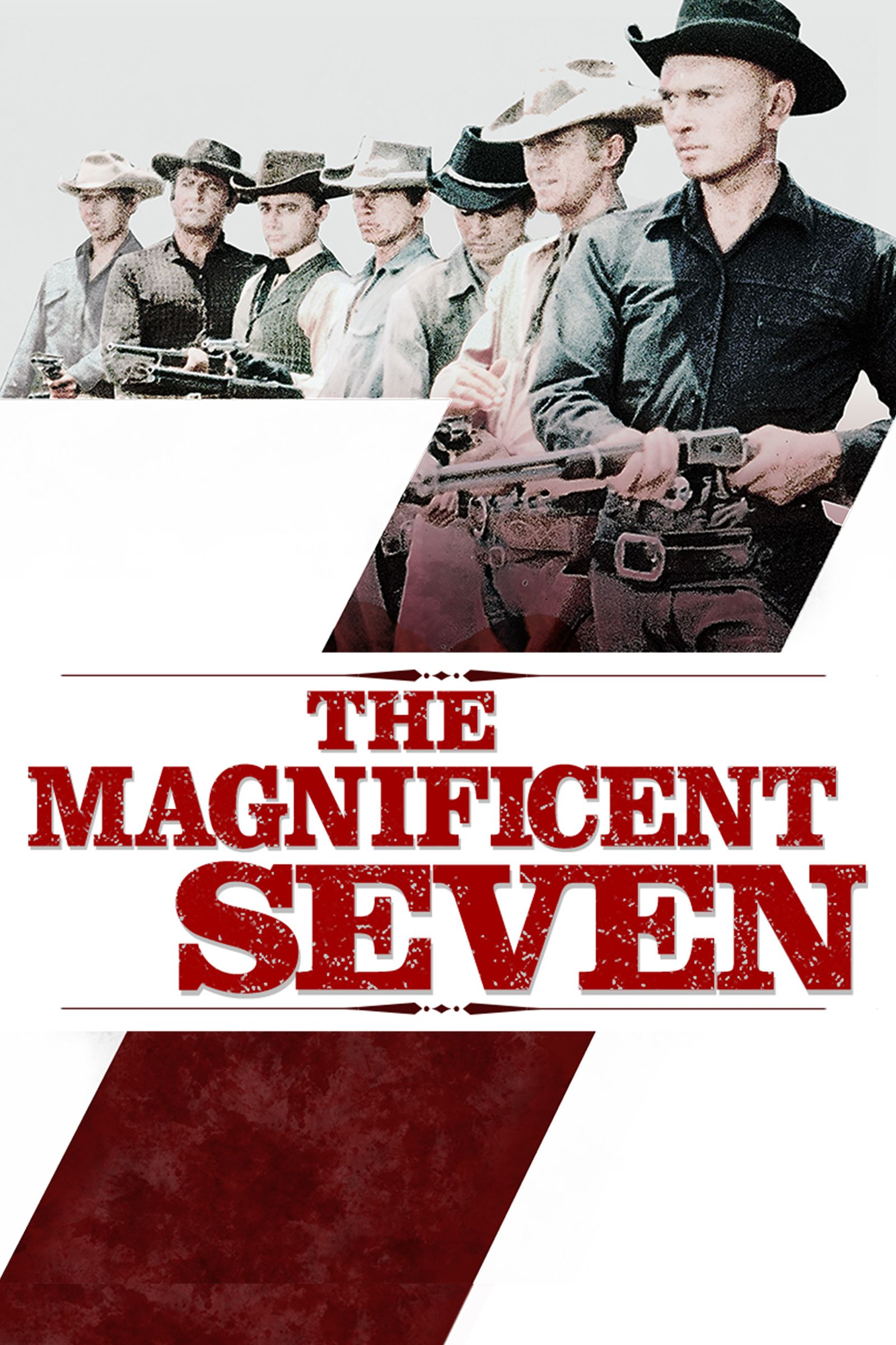 the magnificent seven movie poster yul brynner eli
