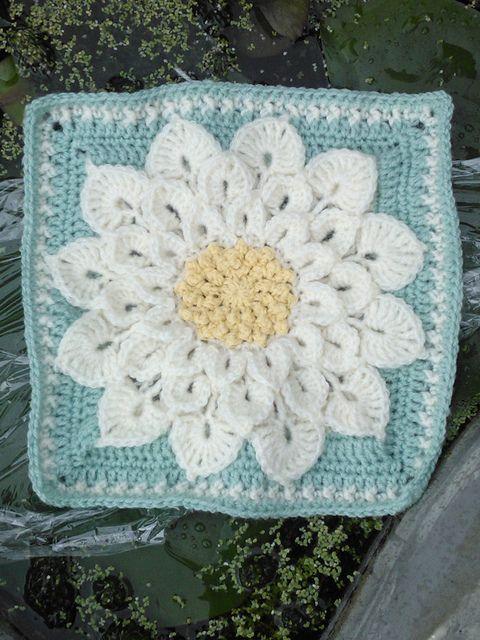 The Crocodile Flower pattern by Joyce D. Lewis | Ganchillo, Tejido y ...