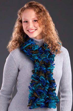 Premier starbella ruffled options scarf knit pattern moore premier starbella ruffled options scarf knit pattern dt1010fo