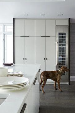 Modern White Kitchen Modern Kitchen Toronto Croma Design Inc Kitchen Makeover Ikea Kitchen
