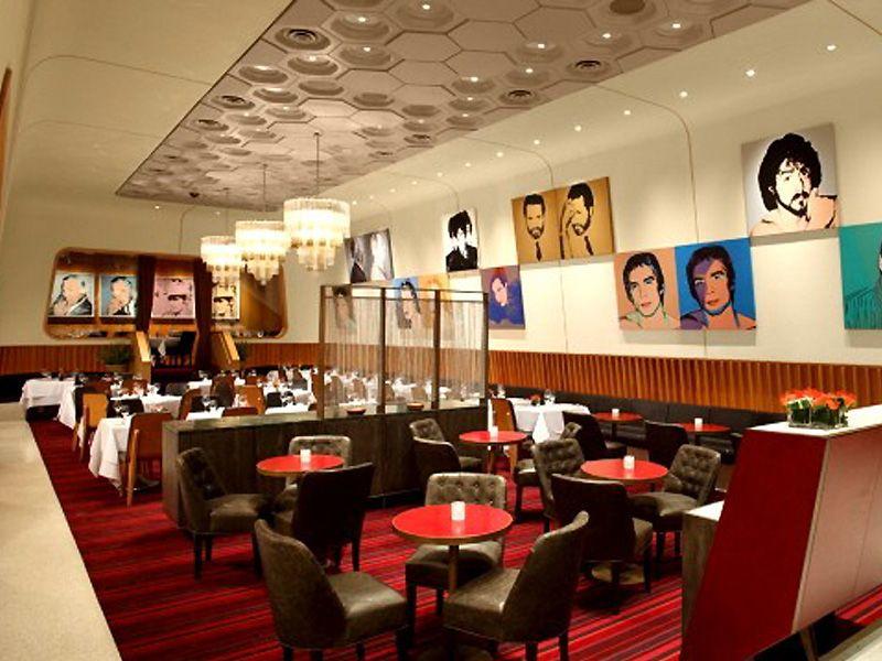 Paintings can make great wall decor  Restaurant Decor Ideas  Restaurant interior design